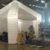Exhibition tent roof