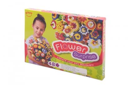 Flower Surprise Box - for 48 colourful foam flowers.