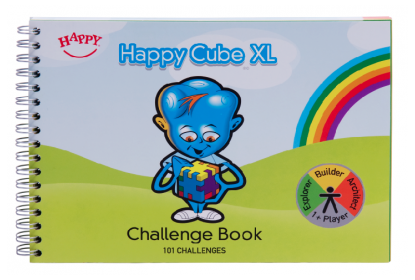 Happy Cube Challenge book with 101 challenges !