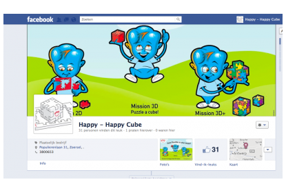 Happy's facebook website.