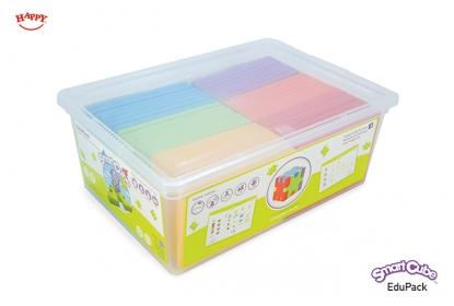 Smart Cube EduPack = 30 puzzles (1 model, 5 x 6 colours) + 2 teacher and 26 pupil cards