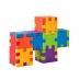 Dog multicolour construction - Smart Cube foam puzzles