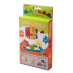 Little Genius 6-pack, 6 foam cube puzzles included, flat packed in their frame.