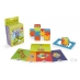 Smart Cube 6-pack with challenge cards in 4 levels and some of many constructions.
