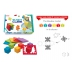 Smart Cube box with 6 colourful puzzles !